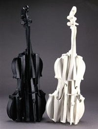 violons decoupes by arman