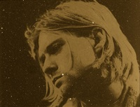 kurt cobain (gold) by russell young