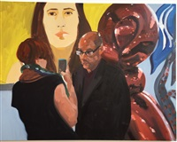 art fair: booth # to be titled (study) by eric fischl