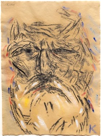 self portrait (after freud's second painting of me) by ronald brooks kitaj