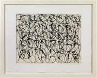 zen studies 1-6: plate 1 by brice marden