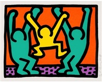 pop shop, i by keith haring