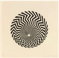 primitive blaze by bridget riley