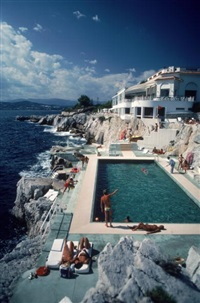 eden roc pool by slim aarons