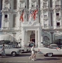 the carlton hotel by slim aarons