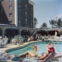 colony hotel palm beach by slim aarons
