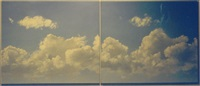 sky changing by geoff hendricks