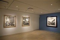installation view by zao wou-ki