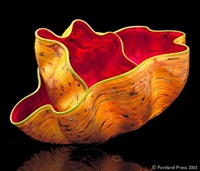 moroccan macchia pair by dale chihuly