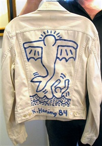 untitled (jacket) by keith haring