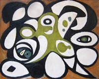 animal head by richard pousette-dart