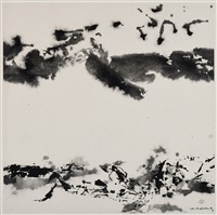 untitled by zao wou-ki