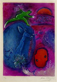 songe de lamon et de dryas (m. 311)<br>daphis and chloe suite by marc chagall