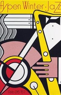 aspen winter jazz by roy lichtenstein