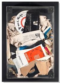 papier poubelles / wastepaper basket by arman