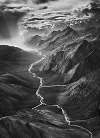 the eastern part of the brooks range, arctic national wildlife refuge, alaska, usa by sebastião salgado
