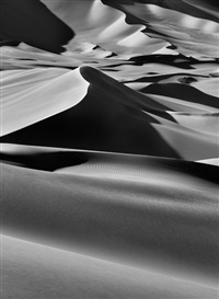 sand dunes between albrg and tin merzouga, tadrart. south of djanet, algeria by sebastião salgado