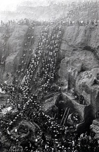 gold mine of serra pelada. pará, brazil. (figure eight) by sebastião salgado