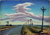 study for texas panhandle by thomas hart benton