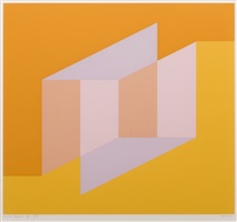never before f by josef albers