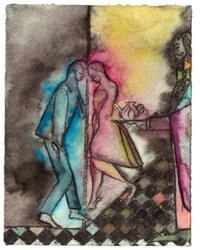 mali memory (tea dance) by chris ofili