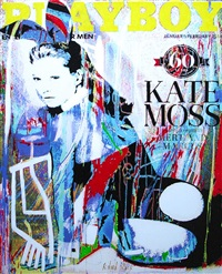 kate moss (playboy) by richard zarzi