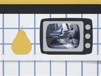 tv still life (from 11 pop artists, vol. ii by tom wesselmann