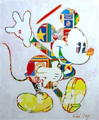 mickey mouse by richard zarzi