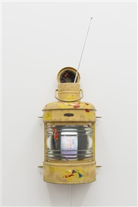 lamp by nam june paik