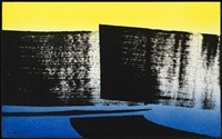 t 1977 - h 46 by hans hartung