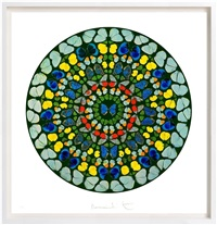 psalm - diligam te, domine by damien hirst