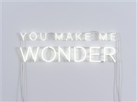 you make me wonder by jeppe hein