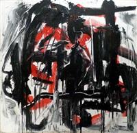 rosso '84 by emilio vedova