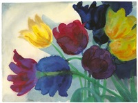 tulips by emil nolde