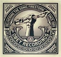 sonic firestorm by shepard fairey