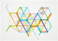 variation on a hexagon 7 by monir shahroudy farmanfarmaian