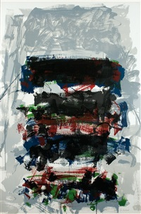 champs (fields) by joan mitchell