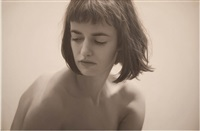 untitled; olya monochrome by yigal ozeri