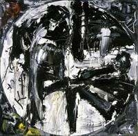 oltre - 3 (ciclo i 1985) by emilio vedova