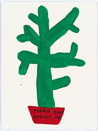 untitled (please don't neglect me) by david shrigley