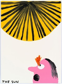 untitled (the sun) by david shrigley