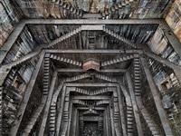 stepwell #5, nagar kund baori, bundi, rajasthan, india by edward burtynsky