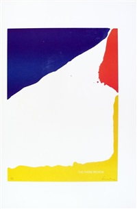 lot 209: signed 1965 helen frankenthaler paris review lithograph by helen frankenthaler