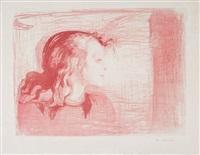 det skye barn i / the sick child i, 1897 by edvard munch