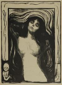 madonna / woman making love by edvard munch