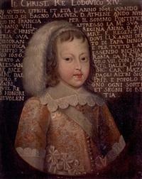 portrait du roi de france louis xiv by french school (17)