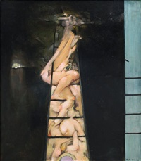 to climb a ladder by dorothea tanning