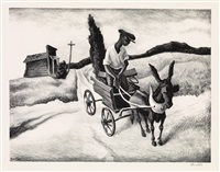 lonesome road by thomas hart benton