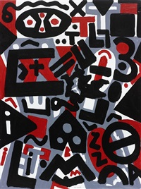 perspektive by a.r. penck