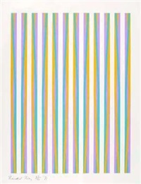 untitled (print for chicago 8) by bridget riley